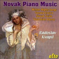 Barcarollen, Op.10 - Novak