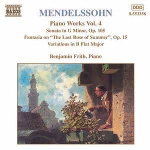 Fantasy on 'The Last Rose of Summer', Op.15 - Massenet