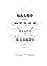 Galop Russe, by Bulhakov, S.478 - Liszt