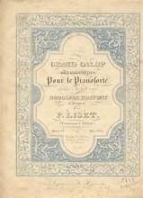 Galop de Bal, S.220 - Liszt