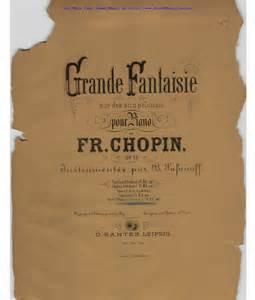 Grande Fantaisie Op.13 - Chopin