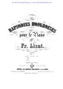 Hungarian Rhapsody No.6, S.244/6 - Liszt