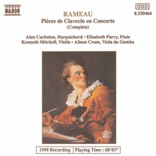 Pieces de Clavecin attribuees a Rameau - Rameau