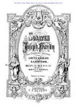 Sonata No.28 in E flat major - Haydn