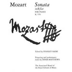 Sonata in B flat major, K.570 - Mozart