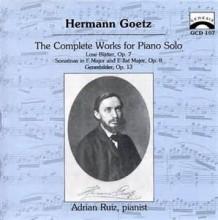 Genrebilder, Op.13 - Goetz