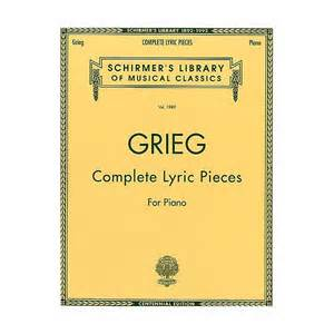 Lyric Pieces, Op.12 - Grieg