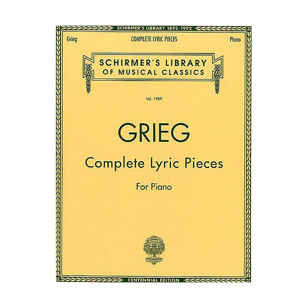 Lyric Pieces, Op.71 - Grieg