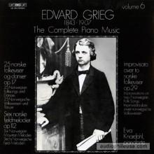 Piano Pieces, EG110-112 - Grieg