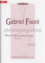 Pieces Breves, Op.84 - Faure