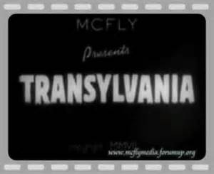 Transylvania - McFly
