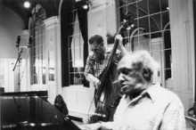 Charlie Haden and Chris Anderson