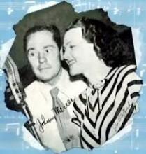 Johnny Mercer and Jo Stafford