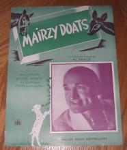 Mairzy Doats - Al Trace