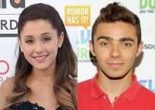 Ariana Grande and Nathan Skyes