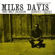 Miles Davis and Milt Jackson