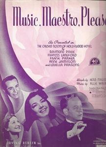 Music, Maestro, Please - Gene Austin