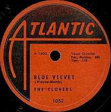 Blue Velvet - The Clovers