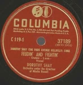 Feudin' And Fightin - Dorothy Shay