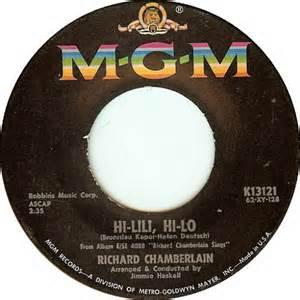 Hi-Lili Hi-Lo - Richard Chamberlain