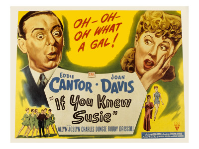 If you knew Susie - Eddie Cantor