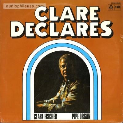 I'll Take Romance - Clare Fischer