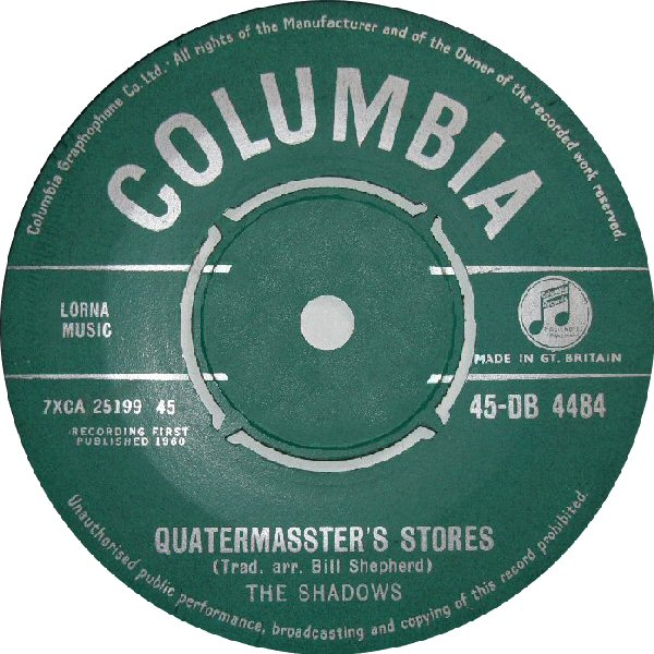 Quartermaster's Store - The Shadows