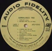 Sambinha - Sambalanço Trio