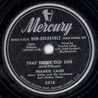 That Lucky Old Sun - Frankie Laine