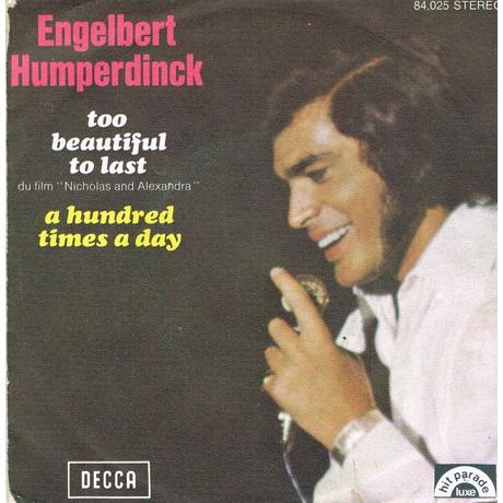 Too Beautiful To Last - Engelbert Humperdinck