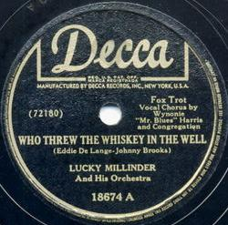When the Lights Go On Again - Lucky Millinder