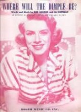 Where Will the Dimple Be - Rosemary Clooney