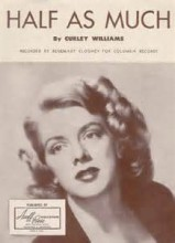 Half As Much - Rosemary Clooney