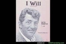 I Will - Dick Glasser