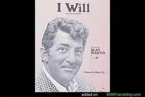 I Will - Dick Glasser