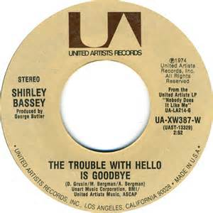 The Trouble With Hello Is Goodbye - June Christy