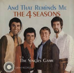 And That Reminds Me - The Four Seasons