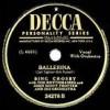 Ballerina - Bing Crosby