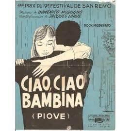 Ciao, Ciao, Bambina - Domenico Modugno