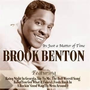 It's Just A Matter Of Time - Brook Benton