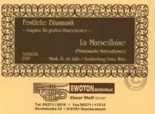 La Marseillaise - Claude Joseph Rouget De Lisle