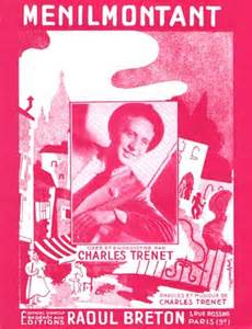 Menilmontant - Charles Trenet