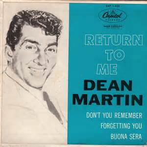 Return To Me - Dean Martin