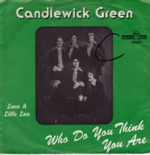 Who Do You Think You Are - Candlewick Green