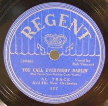 You Call Everybody Darling - Al Trace