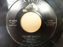 You Don't Know Me - Eddy Arnold
