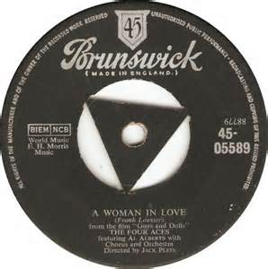 A Woman In Love - The Four Aces