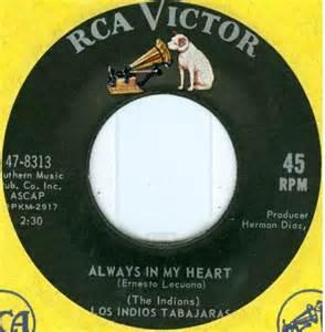 Always In My Heart - Ernesto Lecuona