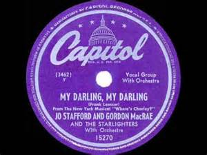 My Darling, My Darling - Jo Stafford And Gordon MacRae