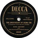 The Sweetheart Of Sigma Chi - Bing Crosby